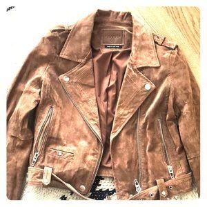 Blank NYC Tan Suede Jacket